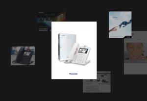Промо-сайт Малой IP-АТС Panasonic KX-HTS824RU. Сделано в Fenneco